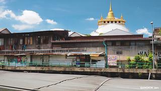 Wat Saket from Phan Fha Pier