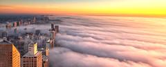 Happy 4th of July (jnhPhoto) Tags: chicago d850 ourwindow places jnhphoto sunrise lakemichigan lake lakeshoredrive clouds cloudscape chicagoskyline chicagocloudslakemichigancityscape