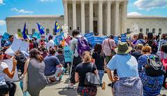 2018.06.26 Muslim Ban Decision Day, Supreme Court, Washington, DC USA 04048