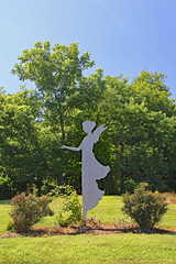 "A 9' 11"" angel in rememberance of 9/11 (Beltway Photos) Tags: delaplane fauquiercounty virginia unitedstates winery civilwar burningraids"