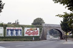 Wolseley Road LSWR Railway Bridge (South) — Photo #3 (ianr81) Tags: lswr railwayline plymouth weston mill railwaybridge outdoor road
