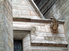 ... (Jean S..) Tags: church gargouille stone old ancient religion building