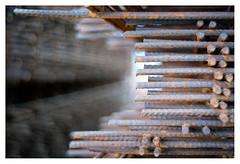Rebar (leo.roos) Tags: rust roest reinforcingsteel reinforcementsteel rebar reinforcingbars wapening betonstaal wapeningstaal a7rii autotakumar3523 pentax m42 july2018classicprimes week35 dyxum challenge darosa leoroos