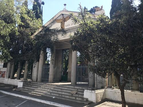 São Paulo Cemetery (1926), Bairro Pinheiros, Brazil.