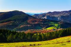 Urkiola (Mimadeo) Tags: urkiola mountain mountains landscape nature church basque basquecountry paisvasco euskadi euskalherria spain sanctuary saibi sunny blue sky