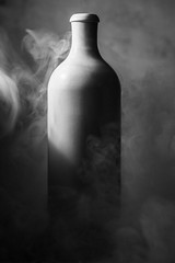 Smoking bottle (lucgasparet) Tags: flasche stillleben bottle bouteille naturemorte stilllife