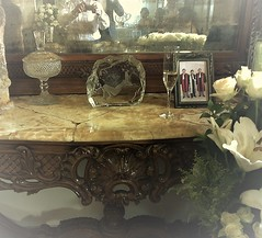 About the ever passing memories (Gilbert-Noël Sfeir Mont-Liban) Tags: wedding family memories reflections mirror crystal cousins famille mariage noces console meuble champagne flûte fleurs flowers reflets spiegel souvenirs