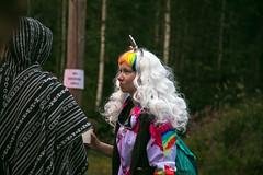 (LLOVGREEN) Tags: kosmos festival 2018 närhilä ristiina suomi finland metsä metsäkekkerit rainbow forest rave raves unicorn lady music