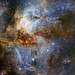 Star Cluster in Pretty Nebula