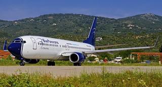 JSI/LGSK: BluePanorama Boeing 737-8Z0 EI-GAW