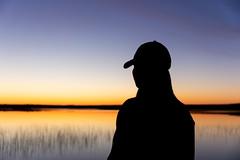silhuethe at a shore of a lake 3 (VisitLakeland) Tags: finland lakeland summer järvi kesä lake luonto maisema nature outdoor silhuet siluetti sunrise vastavalo water