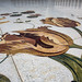 Marble and mother of pearl inlay on floor of courtyard, Sheikh Zayed Mosque, Abu Dhabi