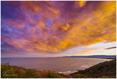 Looking to Shelharbour (e0nn) Tags: pentax pentaxk1 ricoh steveselbyphotography steev steveselby hill60 portkembla ocean water waves sunset cloudsstormssunsetssunrises