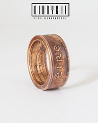 Eire handmade ring (olbrychtrings) Tags: handmade ring rings bands wedding engagement band boho vintage patina bronze jewelry jewellery for man woman stylish handcrafted bright eire ireland irish