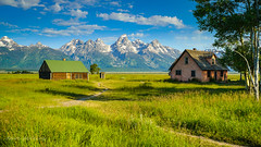 Mormon Row in Tetons (dperkphoto) Tags: tetons wyoming nationalpark