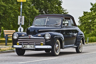 Ford Super DeLuxe Convertible 1946 (7580)