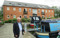 180718 Market Harborough Water Front - The boatyard where Ron's canal boat was built in 1962, now appartments (Gary Danvers Collection) Tags: england leicester