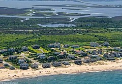 Outer Banks Vacation Houses at Nags Head North Carolina (PhotosToArtByMike) Tags: outerbanks vacationhouse nagshead capehatterasnationalseashore obx aerialview marshes dunes sanddunes northcarolina nc outerbanksnorthcarolina seashore albemarlesound marsh
