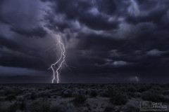 In sync (Dave Arnold Photo) Tags: nm nmex newmex newmexico loslunas manzano mountain range lightning lightening monsoon desert storm stormy thunderstorm thunder image pic us usa picture severe photo photograph photography photographer davearnold davearnoldphotocom nighttime sun scenic cloud rural summer badweather top wet daylight canon 5d mkiii 24105mm huge big valenciacounty landscape nature outdoor weather rain rayo cloudy sky cloudburst raincolumn rainshaft season mountains southwest monsoons strike ray cactus succulent