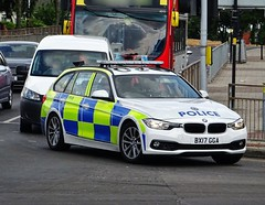 West Midlands Police BMW 330d Traffic Car BX17 GGA (OPS36), Birmingham. (Vinnyman1) Tags: west midlands police bmw 330d traffic car bx17 gga ops36 operations wmp rpu roads policing unit road crime anpr automatic number plate recognition cctv closed circuit television enabled birmingham emergency services service rescue 999 england uk united kingdom gb great britain city