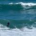 Surfing at Trebarwith