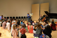 06.21.18 Out & About Storytime at Omaha Conservatory of Music (Omaha Public Library) Tags: omahapubliclibrary outaboutstorytime omahaconservatoryofmusic omaha librariesrock summerreadingprogram books storytime singing dancing games music instruments learning playing concert cello talent piano violin drumskids children library librarian instructors musicians