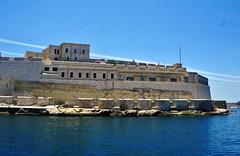 2016-06-08g rejs - Vittoriosa (26) (aknad0) Tags: malta vittoriosa morze architektura krajobraz statki