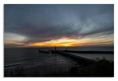 Sunrise in North Yorkshire. iii. (johnhjic) Tags: johnhjic nikon nikond850 northyorkshire sea d850 harbour whitby sunrise