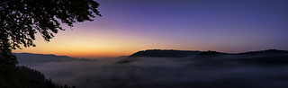 Sonnenaufgang Donautal
