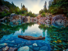 Top Secret Swimming Hole (Jrod1345) Tags: secret swimming hole california water crystal clear hdr landscape outdoors