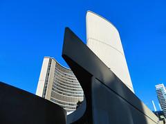 City Hall, Toronto (duaneschermerhorn) Tags: toronto ontario canada city urban downtown architecture building skyscraper structure highrise architect modern contemporary modernarchitecture contemporaryarchitecture