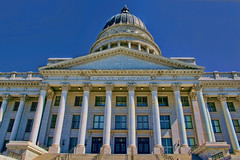 Utah State Capitol, 350 State Street, Salt Lake City, Utah, USA / Architect: Richard K.A. Kletting / Completed: 1916 / Height: 285 ft (87 m) (dome) / Floor count: 5 / Architectural styles: Corinthian order, Neoclassical architecture (Photographer South Florida) Tags: saltlakecity saltlakecounty utah theindustrystate historical city cityscape urban downtown skyline centralbusinessdistrict skyscraper building architecture commercialproperty cosmopolitan metro metropolitan metropolis sunshinestate realestate commercialoffice modernism postmodern modernarchitecture mountaincity highelevation mormon saltlaketemple utahstatecapitol 350statestreet usa richardkakletting completed1916 height285ft87mdome floorcount5 corinthianorder neoclassicalarchitecture yextutah