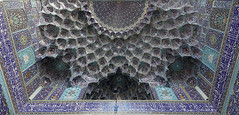 DSC09057 (Dirk Rosseel) Tags: esfahan iran masjede shah masjid mosque iranian iwan tiles
