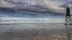 Nordseeküste / NorthSea (>>DenKo<<) Tags: dorum nordsee nordseeküste wattenmeer leuchtturm clouds wolken himmel sky denkmal obereversand northsea neufeld