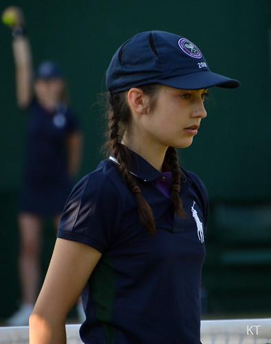 Alexander Peya - Wimbledon ballgirls
