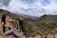Cascada invertida (Javiera C) Tags: chile maule cascada waterfall andes mountain montaña valley valle top cima landscape paisaje cordillera