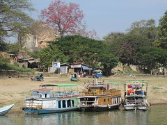 Ayeyarwady Riverboats (D-Stanley) Tags: ayeyarwady mingun irrawaddy river mandalay myanmar burma
