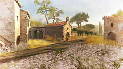 lost in France (Minnie Atlass - Landscaper & Sim Designer) Tags: ntd nevertotally dead gacha france french provence country beauty textured scenic stunning mesh work chaperfour event sim secondlife sl soul2soul van landscape painting southern grass