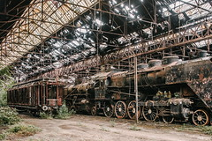 08/30 2017/06 (halagabor) Tags: train trains trainyard garage erecting shop erectingshop industrial urban urbex urbanexploration urbanexploring exploration exploring explorer old decay derelict devastation forgotten lost lostplaces wreck wrecks hungary hungarian budapest nikon nikkor d610
