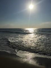 Ocean Sunrise (Naturealive) Tags: ocean sea seascape light image photo photograph reflection reflections beach morning sunrise shore coast peace serene scenic calm sand