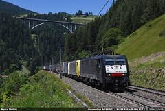 Triple climb... (Marco Stellini) Tags: lokomotion br189 mrce siemens 189 brennerbahn rail traction company es64f4 eurosprinter sankt jodok tirol austria