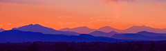 Sunset on the Rockies during the Wildfires (oceanzam) Tags: wildfire colorado summer cloud fire color colorful rockies rockymountain landscape panorama sun orange nature outdoors haze smoke smokey