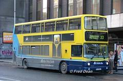 Dublin Bus AV267 (02D20267). (Fred Dean Jnr) Tags: dublin december2005 volvo b7tl alexander alx400 dublinbusyellowbluelivery shill dublinbusroute33 lowerabbeystreetdublin dublinbus busathacliath av267 02d20267