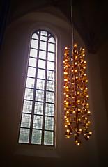 Konzerthalle (bernstrid) Tags: konzerthalle ffo brandenburg fenster lampe leuchter licht architektur