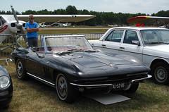 1965 Chevrolet Corvette Convertible V8 (rvandermaar) Tags: 1965 chevrolet corvette convertible v8 chevroletcorvette chevy c2 corvettec2 sidecode1 import al5306