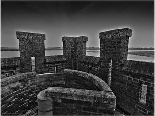 View from the Oeverlanden Castle - Mottekasteel