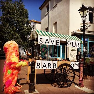 Save our barrow...