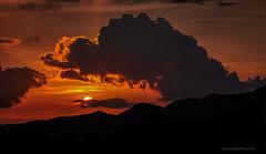 Zalazak sa ceste za Platak (MountMan Photo) Tags: zalazak sunset platak rijeka primorskogoranska croatia oblaci clouds sky nebo