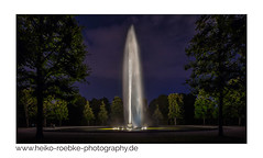Sommernacht / summer night (H. Roebke) Tags: 2018 canon1635mmf28lisiii de canon5dmkiv nightshot longexposure hannover multiexposure herrenhäusergärten mehrfachbelichtung lightroom grosefontäne