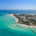 Aerial of Isla Mujeres